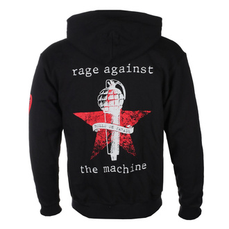 sweat-shirt avec capuche pour hommes Rage against the machine - Bulls On Parade Mic - NNM, NNM, Rage against the machine