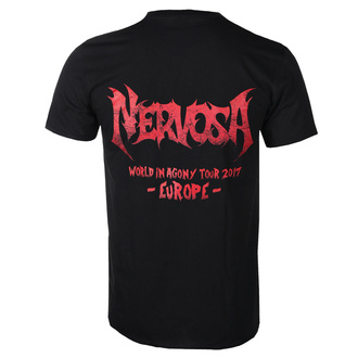 tee-shirt métal pour hommes Nervosa - War - NAPALM RECORDS - TS_446