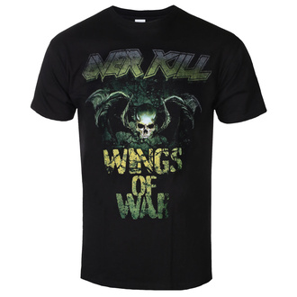 T-shirt metal pour hommes Overkill - Cover Wings Of War - ART WORX, ART WORX, Overkill