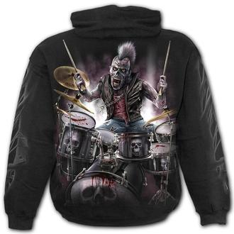 sweat-shirt avec capuche pour hommes - ZOMBIE - SPIRAL