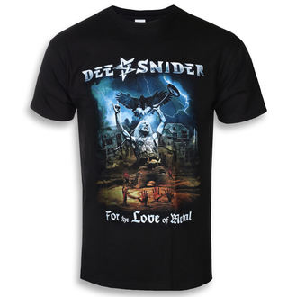 tee-shirt métal pour hommes Dee Snider - For The Love Of Metal - NAPALM RECORDS, NAPALM RECORDS, Dee Snider