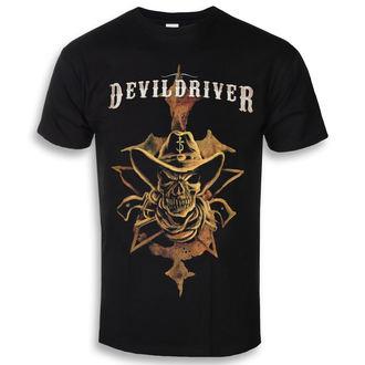 tee-shirt métal pour hommes Devildriver - Cowboy - NAPALM RECORDS, NAPALM RECORDS, Devildriver