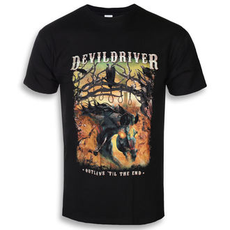 tee-shirt métal pour hommes Devildriver - Outlaws Til The End - NAPALM RECORDS, NAPALM RECORDS, Devildriver