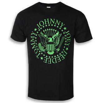 tee-shirt métal pour hommes Ramones - Green Seal - ROCK OFF, ROCK OFF, Ramones