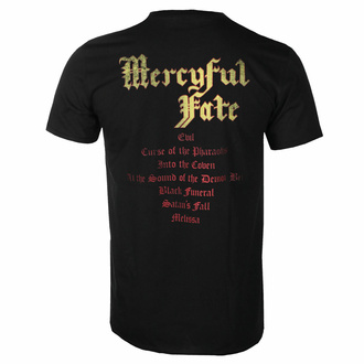 t-shirt pour homme Mercyful Fate - Melissa Tracklist, NNM, Mercyful Fate