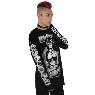 T-shirt UNISEXE à manches longues KILLSTAR - Eye Contact Long Sleeve Top, KILLSTAR