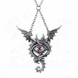 Collier ALCHEMY GOTHIC - Eye Of The Dragon, ALCHEMY GOTHIC