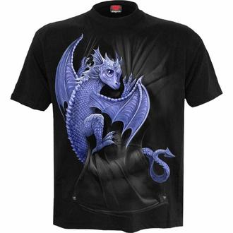 t-shirt unisexe SPIRAL - POCKET DRAGON - Noir, SPIRAL
