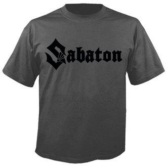 tee-shirt métal pour hommes Sabaton - Logo GREY - NUCLEAR BLAST, NUCLEAR BLAST, Sabaton