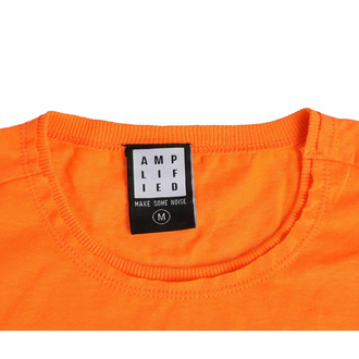 t-shirt pour homme AC/DC - FOR THOSE ABOUT TO ROCK - ORANGE CRUSH - AMPLIFIED, AMPLIFIED, AC-DC