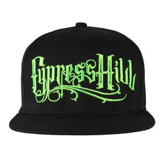 Casquette Cypress Hill - Pot Leaf Black, NNM, Cypress Hill
