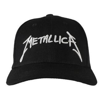 Casquette Metallica - Garage - Argent Logo Noir, NNM, Metallica