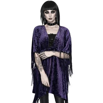 Kimono pour femmes KILLSTAR - Fang Velvet Kimono - PRUNE - KSRA002722