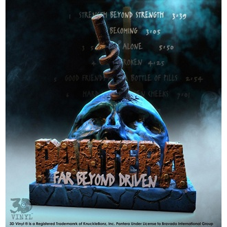 décoration Pantera - 3D Vinyle Statue Far Beyond Driven - KNUCKLEBONZ, KNUCKLEBONZ, Pantera