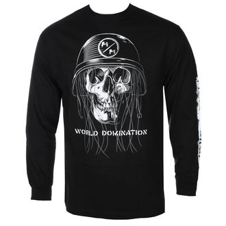 tee-shirt street pour hommes - UNDEAD BLK - METAL MULISHA, METAL MULISHA