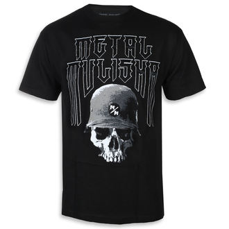 tee-shirt street pour hommes - FORTITUDE BLK - METAL MULISHA, METAL MULISHA