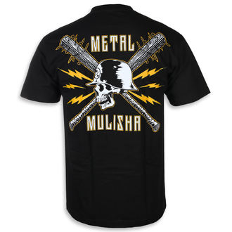 tee-shirt street pour hommes - BLUNT FORCE BLK - METAL MULISHA, METAL MULISHA