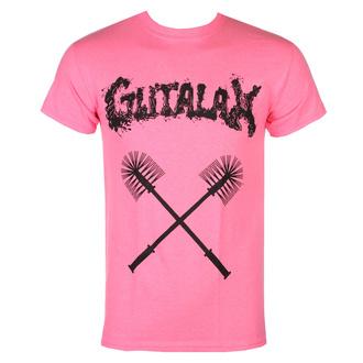 T-shirt GUTALAX pour hommes - toilet brushes - rose - ROTTEN ROLL REX, ROTTEN ROLL REX, Gutalax