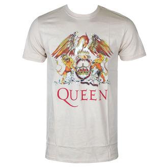 T-shirt Queen pour homme - Classic Crest - ROCK OFF, ROCK OFF, Queen