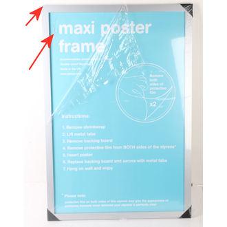 cadre pour affiches (61x91,5 cm) - Silver - GB Posters - ENDOMMAGÉ, GB posters