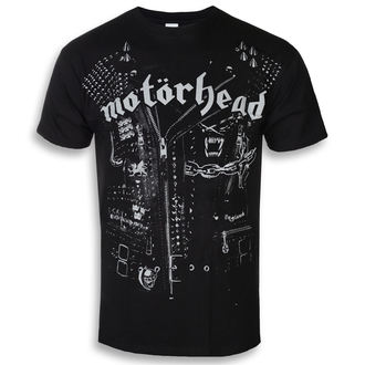tee-shirt métal pour hommes Motörhead - Leather Jacket - ROCK OFF, ROCK OFF, Motörhead