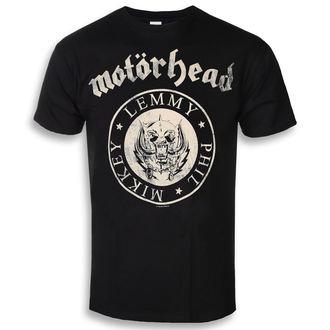 tee-shirt métal pour hommes Motörhead - Undercover Seal Newsprint - ROCK OFF, ROCK OFF, Motörhead