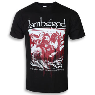 tee-shirt métal pour hommes Lamb of God - Enough Is Enough - ROCK OFF, ROCK OFF, Lamb of God