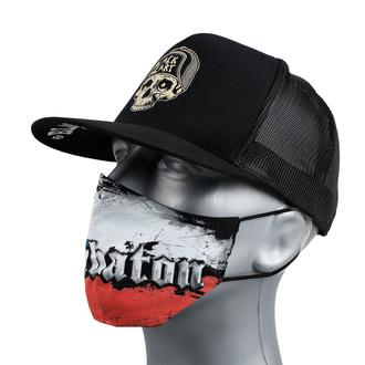 Masque visage SABATON - République Tchèque, CARTON, Sabaton