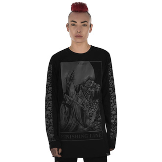 T-shirt UNISEXE avec manches longues KILLSTAR - Finishing Line Long Sleeve Top, KILLSTAR