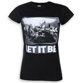 tee-shirt métal pour hommes Beatles - Let It Be Studio - ROCK OFF, ROCK OFF, Beatles