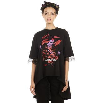 t-shirt hardcore pour femmes - Frida Flowers - DISTURBIA, DISTURBIA