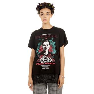 t-shirt hardcore pour femmes - Frida Viva La Vida - DISTURBIA, DISTURBIA