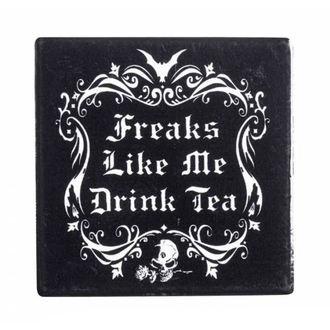 Dessous de verre ALCHEMY GOTHIC - Freaks Like Me Drink Tea - CC5
