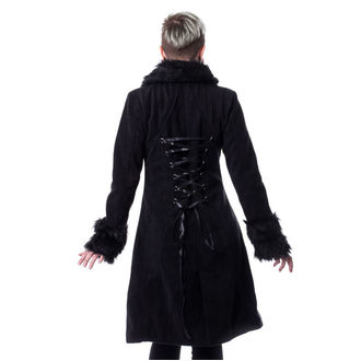 Manteau pour femmes POIZEN INDUSTRIES - FROZEN - NOIR, POIZEN INDUSTRIES