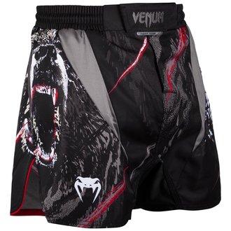 Boxeur short (short de combat) Venum - Grizzli - Noir / blanc, VENUM