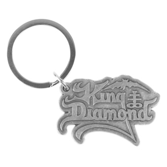 Porte-clés (pendentif) King Diamond - Logo - RAZAMATAZ, RAZAMATAZ, King Diamond