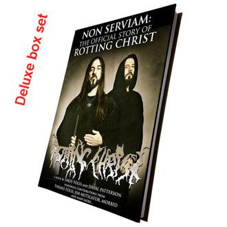 Livre (coffret cadeau) Non Serviam: Rotting Christ (Coffret de luxe édition reliée et signée), CULT NEVER DIE