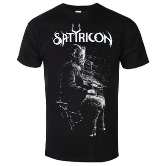 T-shirt SATYRICON pour hommes - Fanden - NOIR, NNM, Satyricon