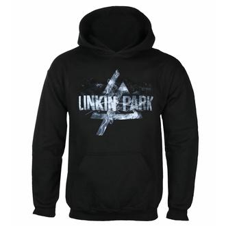 Sweat à capuche pour hommes LINKIN PARK - SMOKE LOGO - PLASTIC HEAD, PLASTIC HEAD, Linkin Park