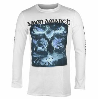 T-shirt pour hommes à manches longues AMON AMARTH - RAVEN'S FLIGHT - BLANC - PLASTIC HEAD, PLASTIC HEAD, Amon Amarth