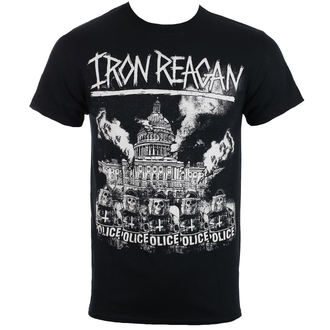 tee-shirt métal pour hommes Iron Reagan - Capital Police - Just Say Rock - IRR125