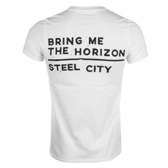 tee-shirt métal pour hommes Bring Me The Horizon - Distorted - ROCK OFF - BMTHTS27MW