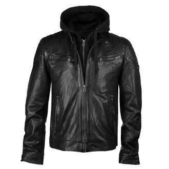 Veste pour hommes (motard) GBGorey 2 LASANV - Black - M0012800
