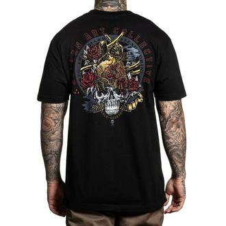 T-shirt pour hommes SULLEN - GOLD HEARTED - NOIR, SULLEN