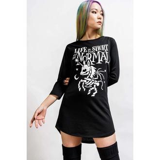 pyjama femme (chemise de nuit) KILLSTAR - Gothicorn - Noir, KILLSTAR