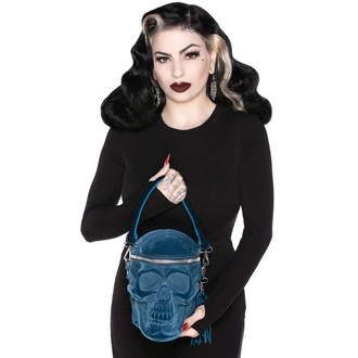 Sac à main (sac) KILLSTAR - Grave Digger Skull - BLUE, KILLSTAR