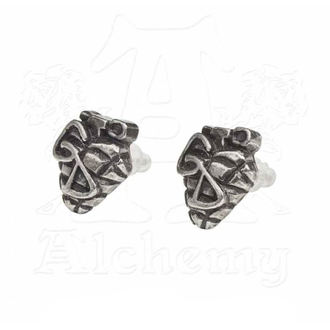 Boucles d'oreilles Green Day - Grenade - ALCHEMY GOTHIC, ALCHEMY GOTHIC, Green Day