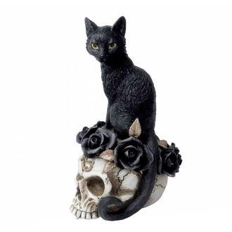 Décoration ALCHEMY GOTHIC - Black Cat & Skull, ALCHEMY GOTHIC