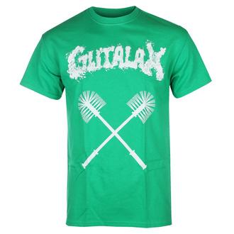 T-shirt pour hommes GUTALAX - toilet brushes - vert - ROTTEN ROLL REX, ROTTEN ROLL REX, Gutalax