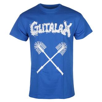 T-shirt pour hommes GUTALAX - toilet brushes - bleu roi- ROTTEN ROLL REX, ROTTEN ROLL REX, Gutalax